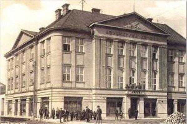 Budova Advokátskej komory z roku 1933.