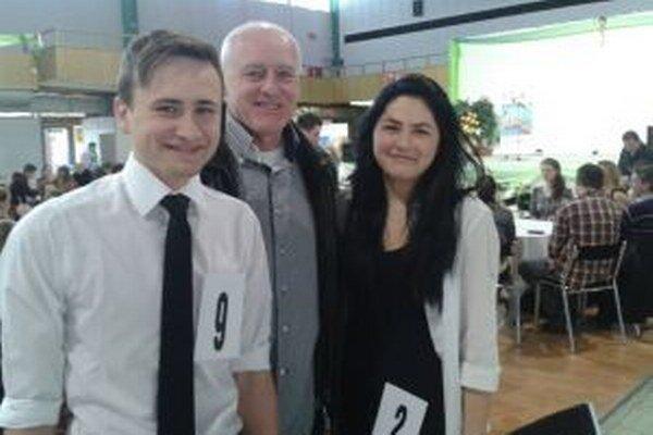 Milan Kuhajda (vľavo)môže zabojovať v ďalšom kole úspešných študentov agrobiznisu.