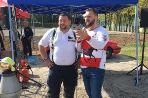 Medzi hasičov zavítal aj Milan Junior Zimnýkoval.