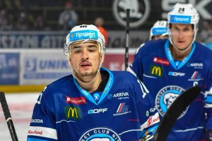 Róbert Lantoši je najproduktívnejším hráčom Nitry v tejto sezóne.