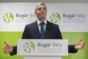 Béla Bugár začína s kampaňou pred prezidentskými voľbami.