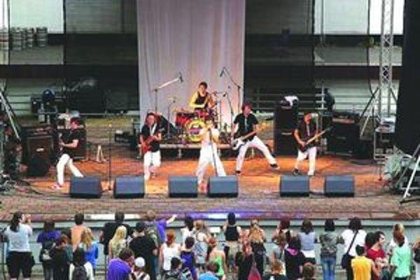 Bačova fujara na jednom z letných koncertov.
