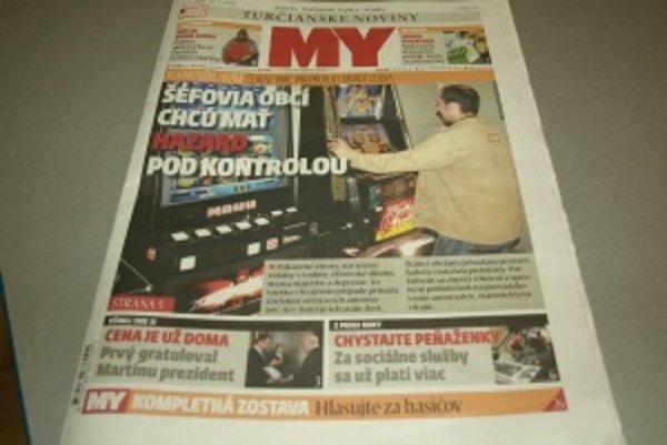 Čerstvé MY Turčianske noviny.