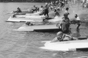 V roku 1993 sa na priehrade uskutočnili majstrovstvá slovenska motorových člnov.
