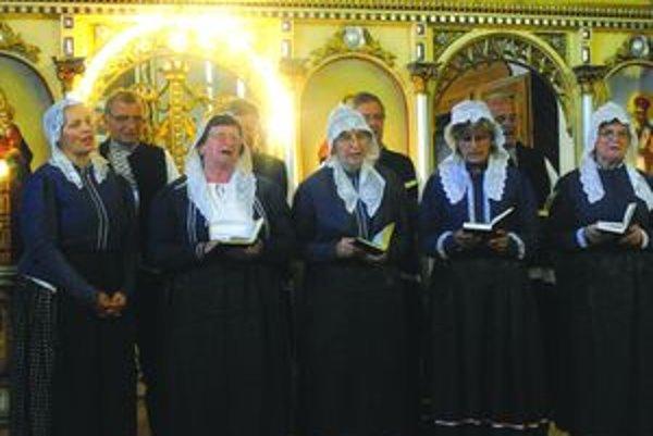 Turčania vystúpili aj bohoslužbách v kostole.