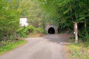 Ružínsky vchod do tunela od Kozinca.