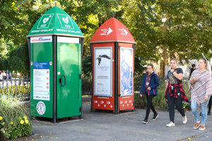 Život zachraňujúca búdka so zeleným polepom bude otvorená od 5. októbra.