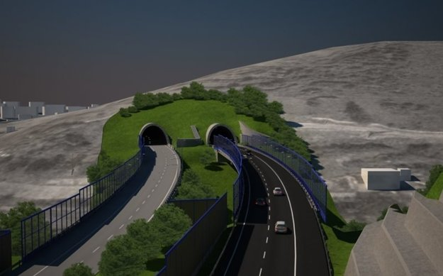 Tunel v Čadci-Horelici v budúcnosti rozšíria o druhú tunelovú rúru.