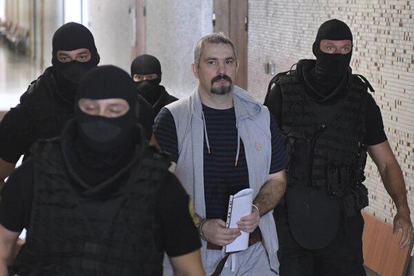 Vladimíra vedú na rozhodovanie o vydávacej väzbe.