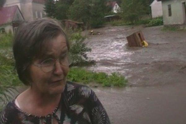 Z veľkej vody a škôd sa Mária nevie spamätať. Záplava jej zobrala takmer všetko.