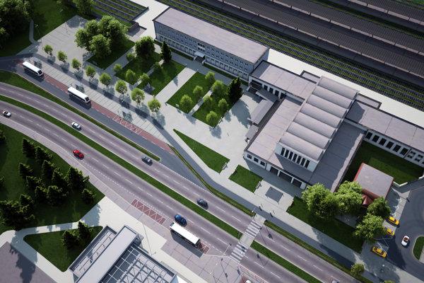 Zmení sa organizácia dopravy aj parkovania. Vizualizácia.