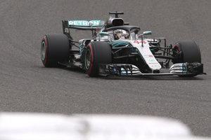 Lewis Hamilton pred VC Japonska.