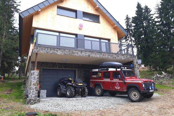 Nové stredisko horskej služby na Martinských holiach.