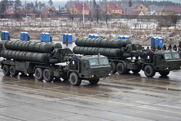 Ruský systém S-400 Triumf.