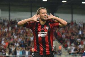 Jeden z gólov Trnavy strelil Marek Bakoš.