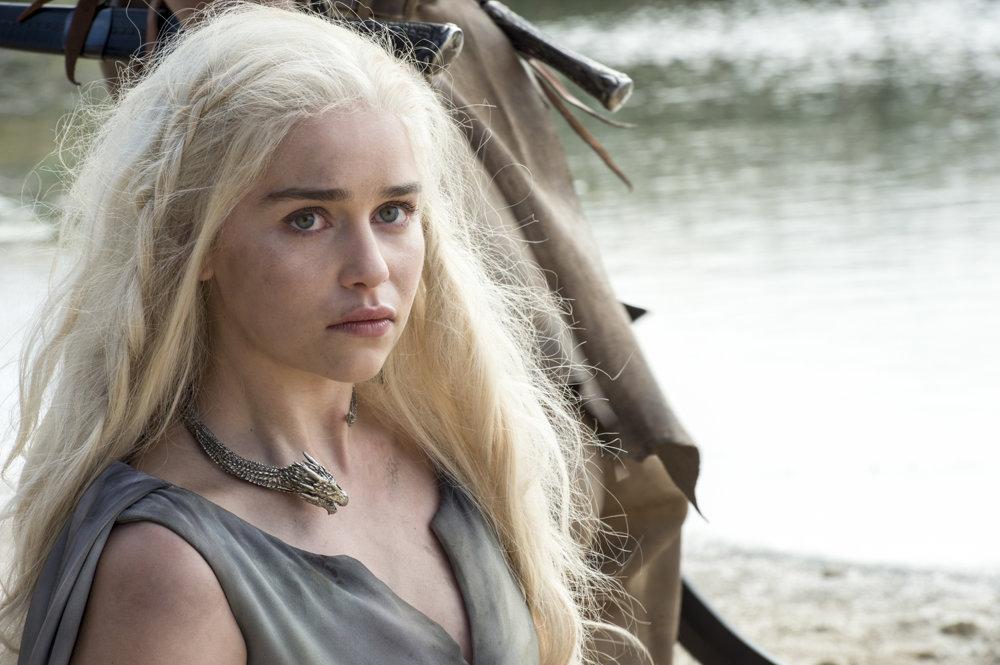 Daenerys bez drakov.