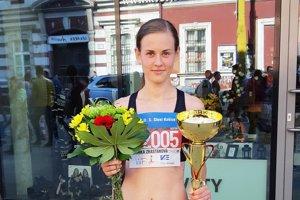 Veronika Zrastáková obhájila prvenstvo na polmaratóne v Košiciach.