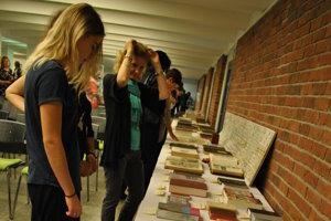 Putovná výstava Biblia na cestách v Galérii Univerzum Pedagogickej fakulty UKF v Nitre.