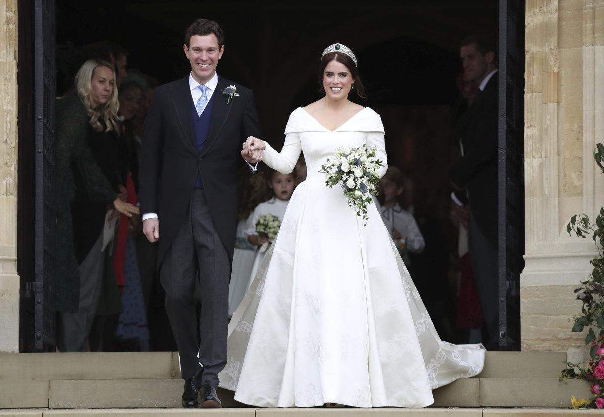 1318ccf4696f Princezná Eugenie a Jack Brooksbank sú svoji.