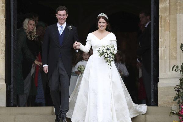 Princezná Eugenie a Jack Brooksbank sú svoji.