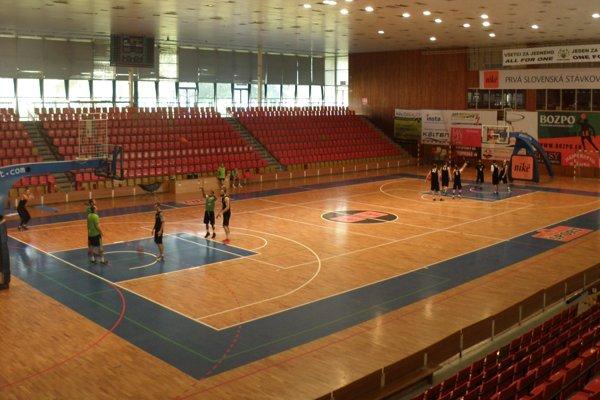 Športová hala v Prievidzi.