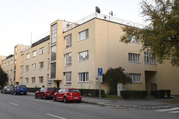 Masarykova kolónia bankových úradníkov.