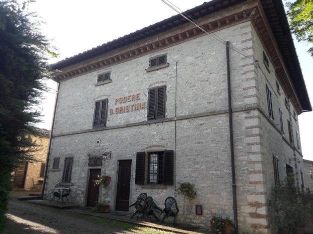 Ubytovanie v Chianti