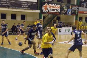Najlepší strelec zápasu Vojtech Gyurics (10) dal desať gólov.