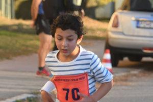 Najmladší účastník.