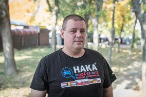 Zakladateľ stránky na Facebooku HAKA - Hľadá sa auto, kradnuté automobily.