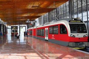 Nové vlaky v Tatrách.