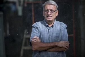 Spisovateľ Peter Juščák.