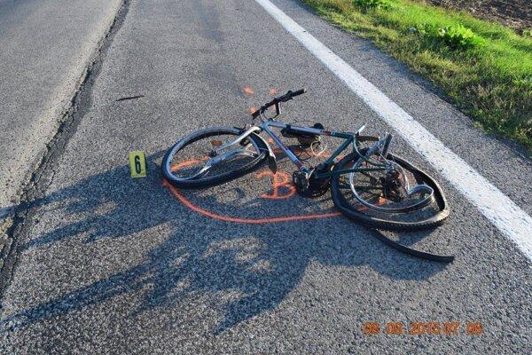 Cyklisti mali nehody aj v januári.