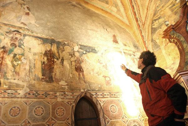 Fresky kostola v Čeríne.