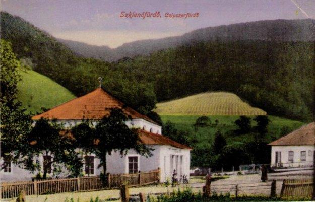 Sklené Teplice v minulosti.