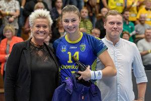 Veronika Habánková bola vyhlásená za najlepšiu hráčku Iuventy v odvetnom dueli.
