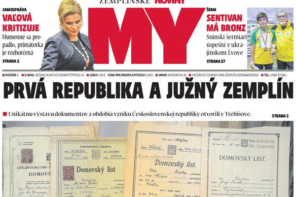Úspešní šermiari a rozhorčená Vaľová. Všetko sa dočítate v Zemplínskych novinách. (FOTO: REDAKCIA)