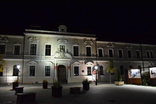 Mestské múzeum v Lučenci.