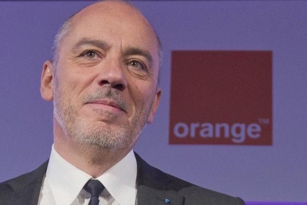 Šéf francúzskej firmy Orange Stephane Richard