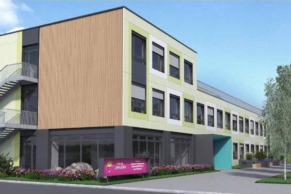 Projekt nového sociálnoterapeutického centra, ktoré by malo vyrásť na ulici Mirka Nešpora.