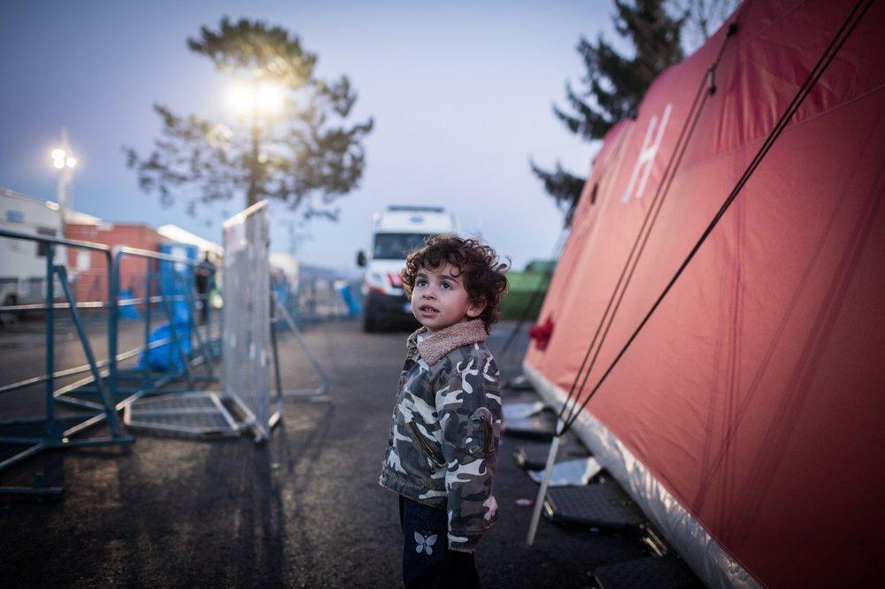 Utečenci strávia na juhu Slovinska len niekoľko hodín.