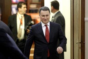 Nikola Gruevski na archívnej snímke.