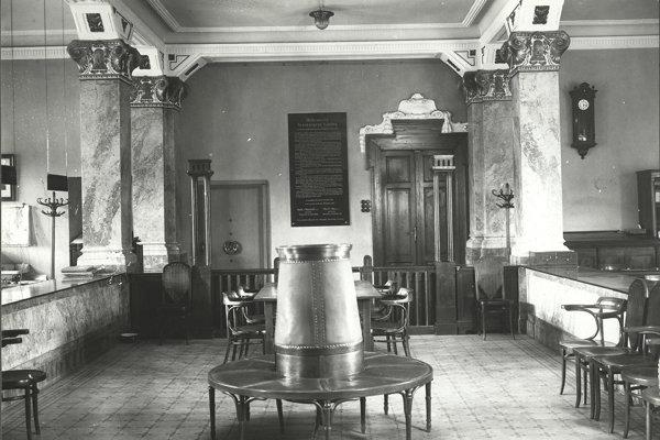 Dvorana bývalej Tatrabanky, v ktorej bola podpísaná Martinská deklarácia.