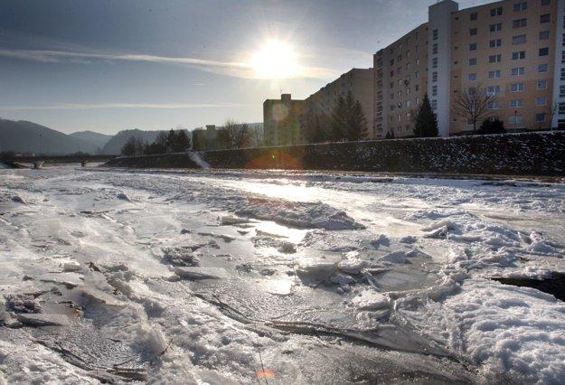 Zamrznutý Hron, 12. 2. 2012