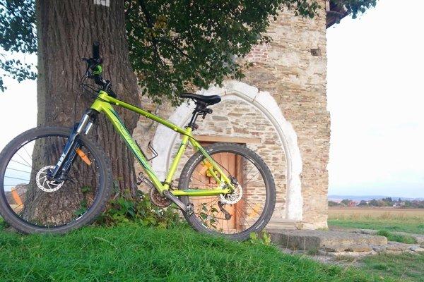 Ukradnutý horský bicykel.