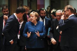 Na Merkelovej európski lídri oceňujú jej skúsenosti.