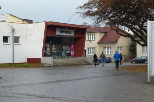 Kino Moskva v Martine.