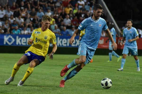 Michalovčanom sa v lige proti Slovanu nedarí, zatiaľ ho nezdolali ani raz.