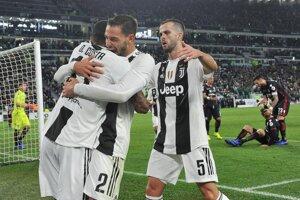 Juventus sa tešil aj v sobotu.
