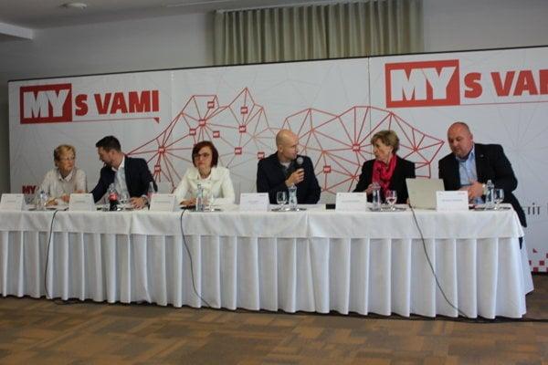 Diskutujúci vysvetlili aj svoje plány v prípade zvolenia.